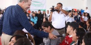 Inicia Gobierno del Estado jornadas de apoyo universitarias en Ciudad Educadora