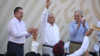 Anuncian gobierno Federal y Estatal continuación de la carretera Badiraguato-Parral, Chihuahua