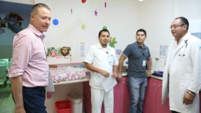 En puerta modernización del Centro de Salud de Culiacán