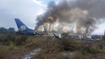 Avionazo en Durango fue causado por negligencia del piloto: SCT