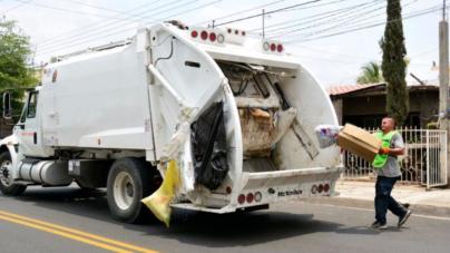 Anuncia alcalde compra de seis camiones recolectores de basura para Culiacán