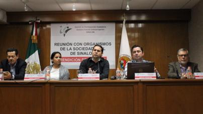 Comité de participación ciudadana buscará que la corrupción sea delito grave en Sinaloa