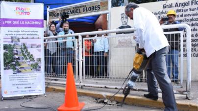 Punto a Punto | Inicia Ayuntamiento mejoramiento de entorno vial en las escuelas