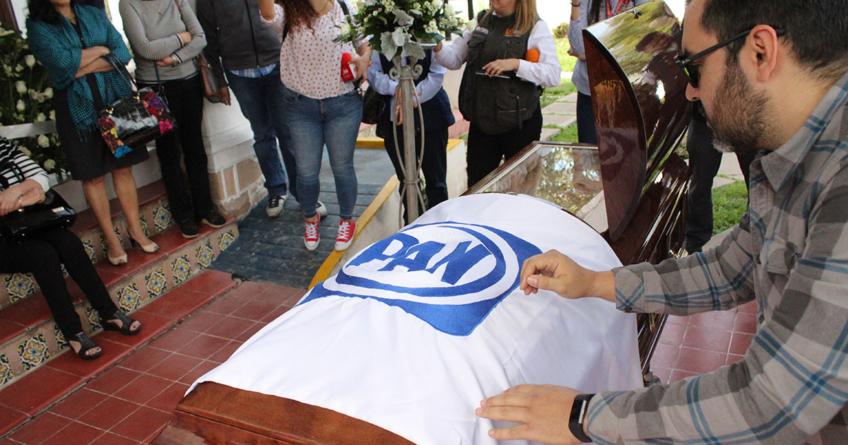 Con homenaje despiden en el PAN a Jorge del Rincón