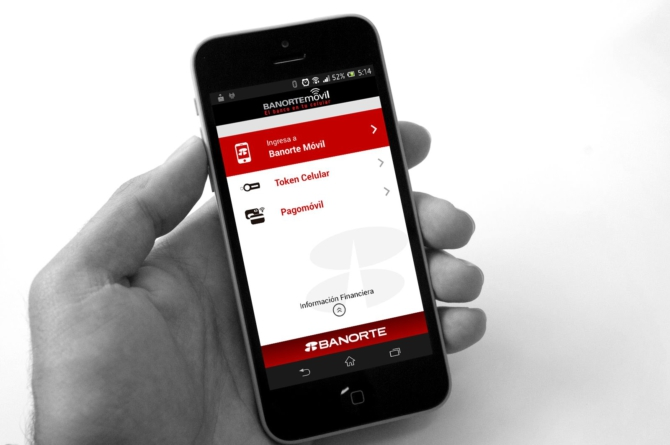 La app Banorte Movil ya es gratuita para usuarios de Telcel