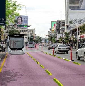 Así se vería |Presentanprototipo para metrobus de Culiacán