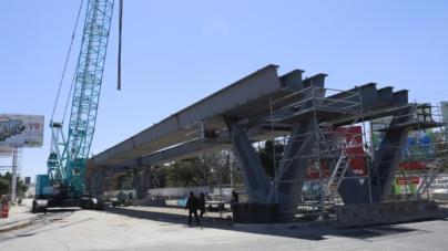 Obras viales | Paso superior Rolando Arjona registra avance de 83 por ciento