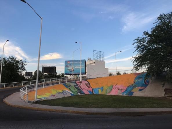 Mural sin justica   Artista culichi alza la voz para que se respete su obra