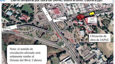Cerrarán tránsito por el bulevar Enrique Cabrera de Culiacán esta noche