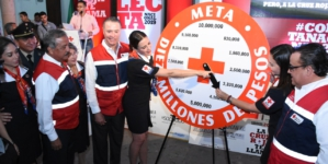 Con meta de 30 MDP, arranca colecta de Cruz Roja en Sinaloa