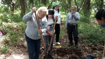 Sabuesos Guerreras encuentran fosa clandestina en La Platanera