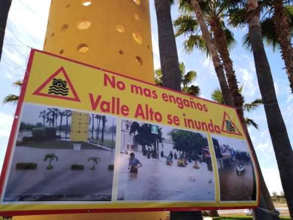 Se necesitan 417 millones de pesos para resolver inundaciones en Valle Alto: Estrada Ferreiro