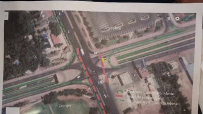 Cerrarán tramo del boulevard Rolando Arjona durante la mañana del próximo sábado