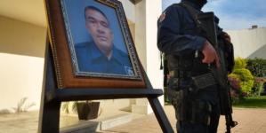 SSP rinde homenaje a policía caído en Aguaruto