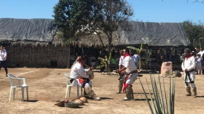 Visitantes disfrutan del Equinoccio de Primavera en Las Labradas de San Ignacio