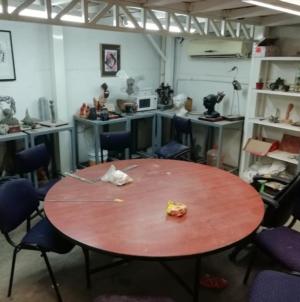 Alumnos denuncian las pésimas instalaciones de la Escuela de Artes de la UAS