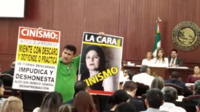 """Morena """"raspa"""" y advierte a la Auditora en el Congreso"""