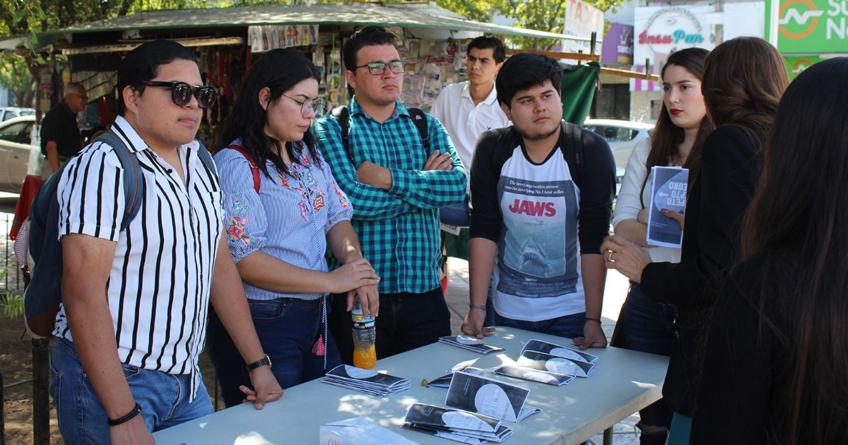 Todos somos uno   Alumnos de UAdeO inician campaña contra la discriminación