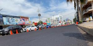 Se preparan ante lluvias | Municipio invierte 700 mil pesos en reencarpetado de la Obregón