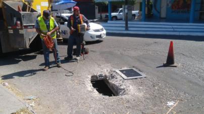 Ayuntamiento inicia la reparación de todas las rejillas pluviales de Culiacán