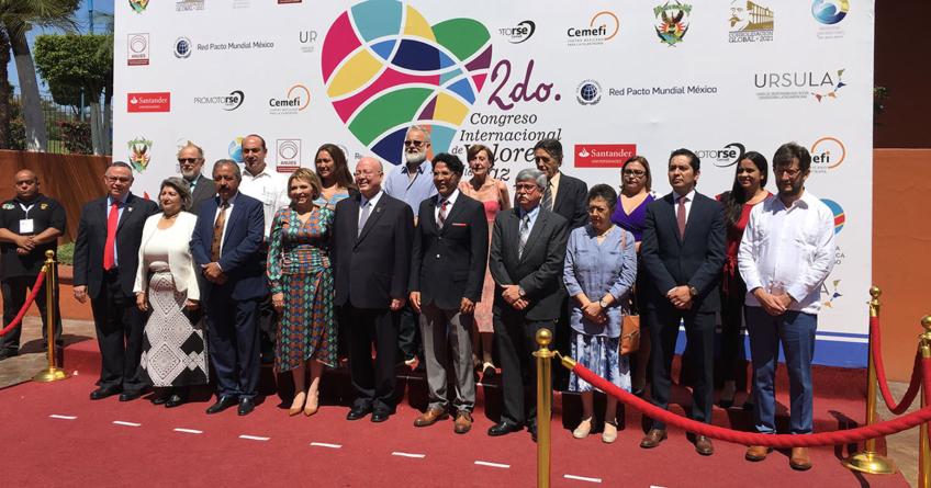 UAS inaugura el segundo Congreso Internacional de Valores por la Paz