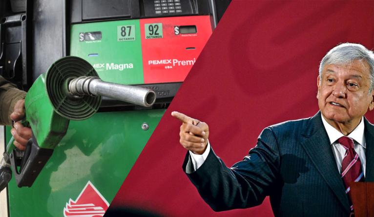 AMLO a gasolineros | «Si no respetan precios se creará una red de gasolineras»