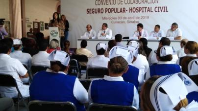 Renuevan convenio | Hospital Civil y Seguro Popular combatirán la muerte materno-infantil