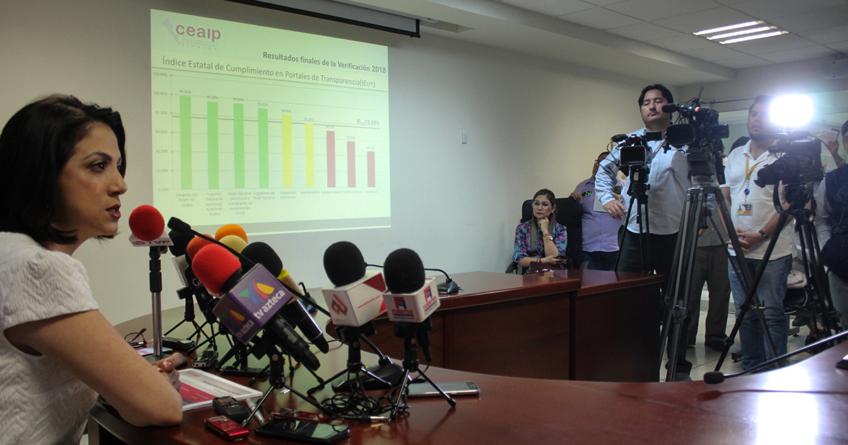 Entidades públicas de Sinaloa cumplen al 75.9% en transparencia