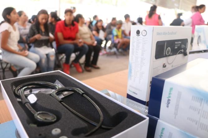 Inicia Quirino Entrega de Equipamiento a Centros de Salud