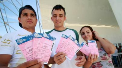 Galería | Aficionados abarrotan taquillas del estadio Banorte por boletos para Final de Ascenso