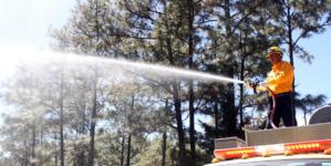 Los incendios forestales en Sinaloa