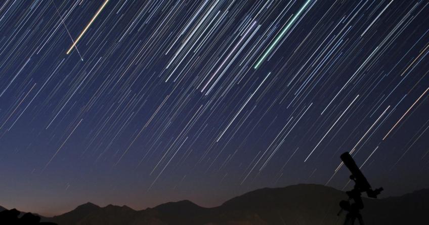 Las Líridas   La Gran Lluvia de Estrellas que Inicia este Martes y Durará Todo Abril
