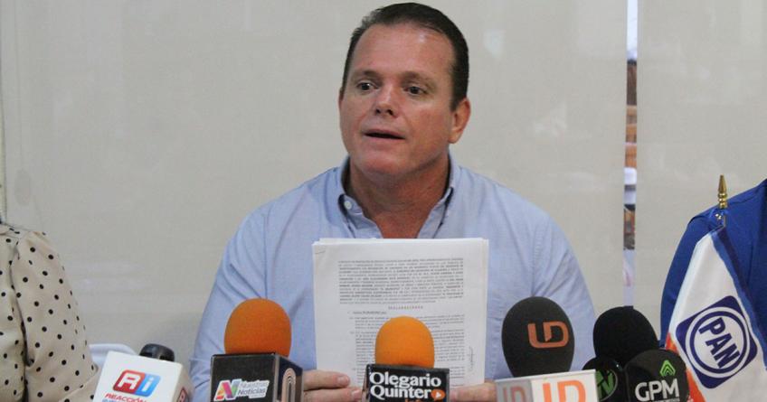 Contratos | Diezmo sube a 25% con Estrada Ferreiro, acusa dirigente del PAN