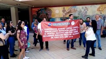 ¡Queremos nuestro pago! | Personal de Salud se manifiesta en Palacio de Gobierno