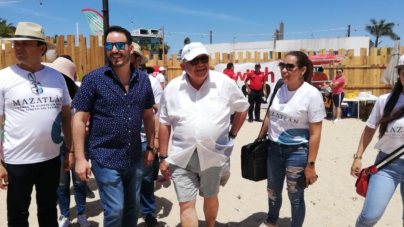 """Alcalde de Mazatlán presume """"la mejor Semana Santa de todos los tiempos"""""""