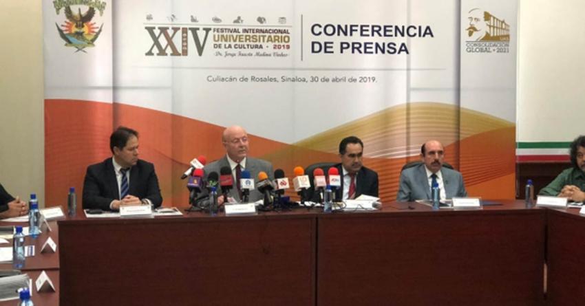 """Sin artistas """"comerciales"""", anuncian el  XXIV Festival Internacional Universitario de la Cultura"""