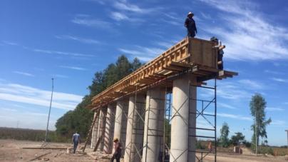 Acceso sur al Aeropuerto de Culiacán lleva 70% de avance: Secretaría de Obras Públicas