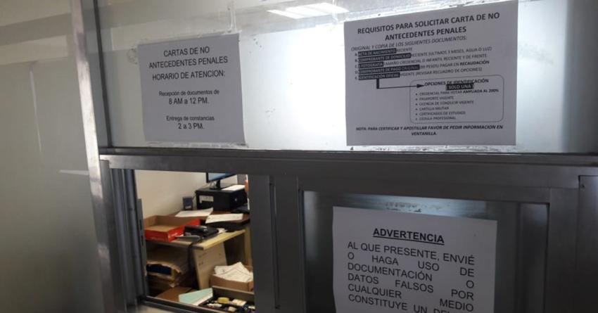 Que Carta de No Antecedentes Penales deje de ser obligatoria, proponen diputados del PRI en Sinaloa