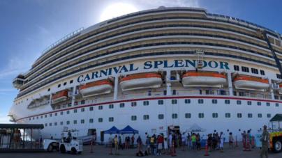 Llegan 5 mil 608 visitantes a Mazatlán en dos cruceros turísticos