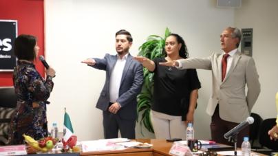 Nombra IEES a nuevos titulares en Coordinación, Transparencia y Presidencia
