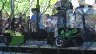 ¡Vamos a la robobatalla! | Echa un vistazo al torneo de minirobots del Tec de Culiacán