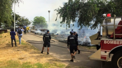 Luego de incendio, ayuntamiento llama a cuidar espacios públicos como Parque Las Riberas