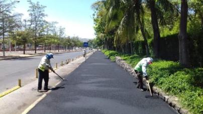 Con inversión de 600 mil pesos, inician rehabilitación de trotapista de Jardín Botánico