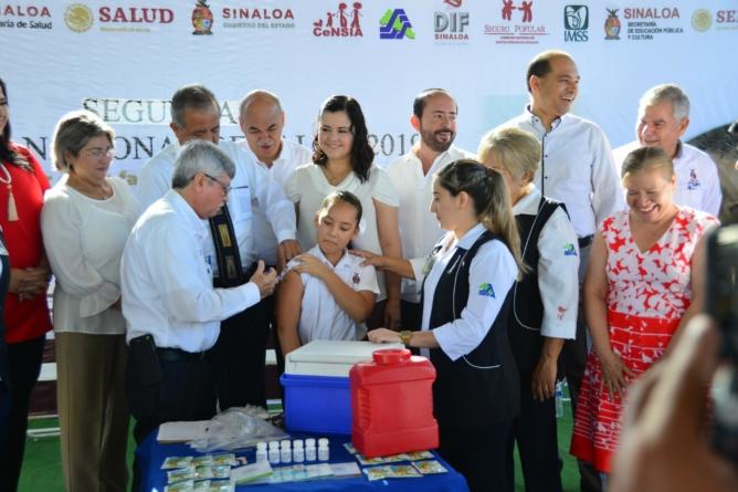 Anuncian 35 mil dosis de vacuna contra el Virus del Papiloma Humano para niñas sinaloenses