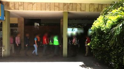 Evacúan edificio La Lonja tras reporte de fuga de gas