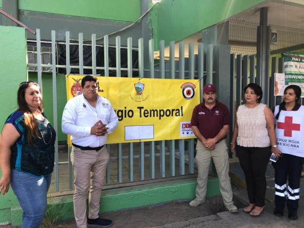 Con 110 refugios temporales, preparan a Sinaloa para temporada de huracanes