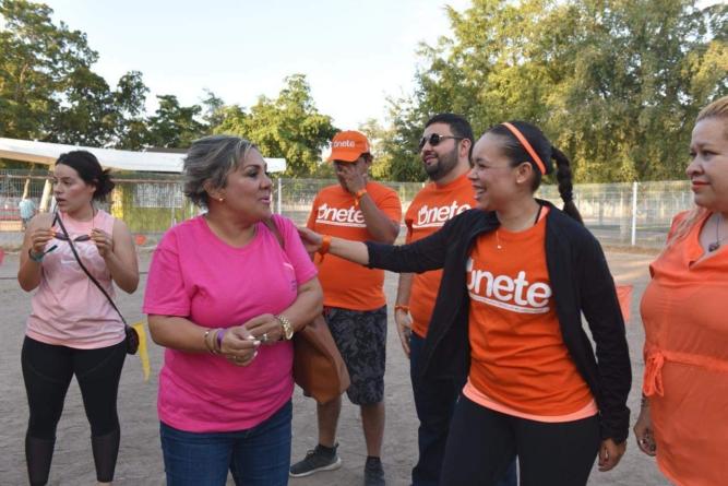 """En el """"Día Naranja"""", así se lucha por la mujer sinaloense"""