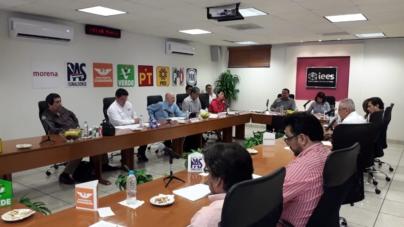 Solicitará IEES 122 mdp para partidos en Sinaloa en 2020; toca a Congreso aprobar o rechazar propuesta