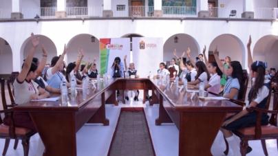 Cabildo por un día | Regidores infantiles exigen promover educación vial y acabar con basura en las calles