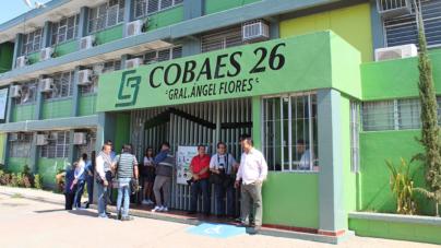 Baños, internet y proyectores, lo más urgente para alumnos del Cobaes 26